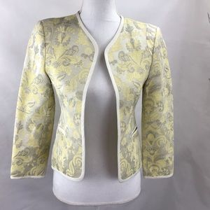 Wilfred made in Italy Jacquard blazer cardigan 2